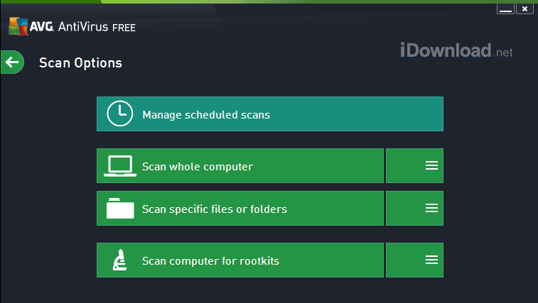 Download AVG Free Antivirus for Windows