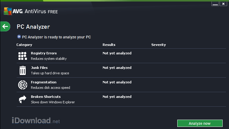 AVG FREE has tools that allow you to fix registry errors, clean junk files, and defrag your hard drive