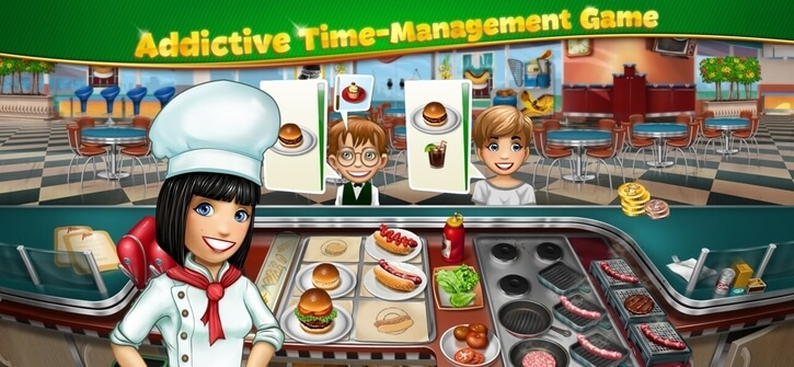Cooking Fever iPhone game screenshot