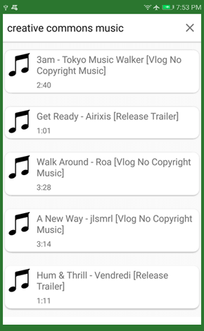 Mp3 Direct Music Download app screenshot